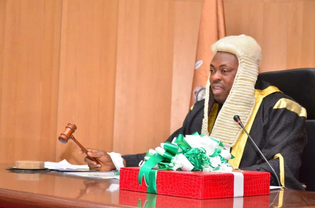 Osun Speaker, Timothy Owoeye, orders MDAs to report before House committee as Gov. Oyetola presents Budget of Restoration